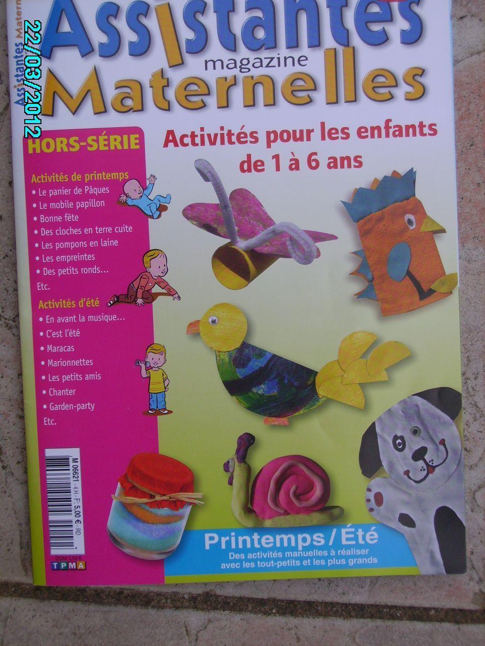 assistantes maternelles magazine, hors série n°4